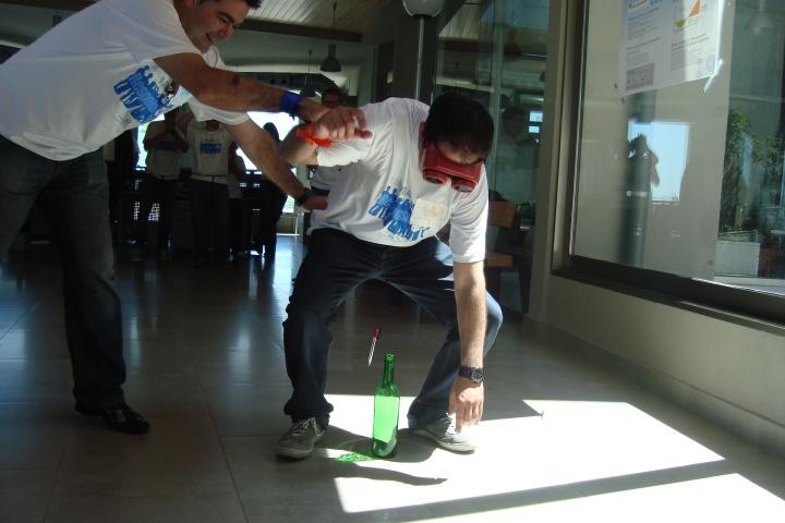 Gafas de simulación de alcohol en Campoviejo