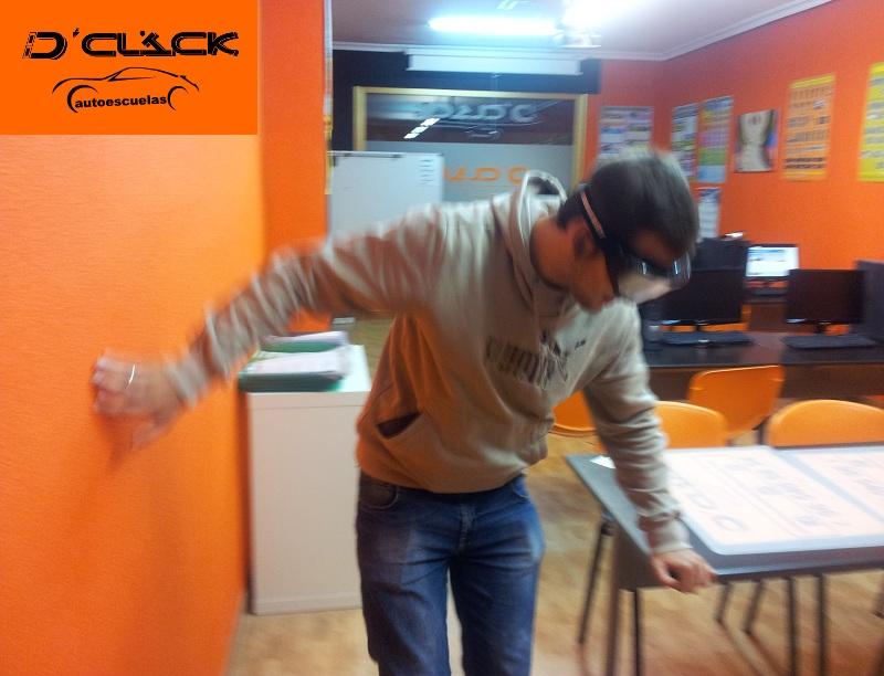 Gafas de simulación de alcohol en sangre - D'Clik Autoescuelas