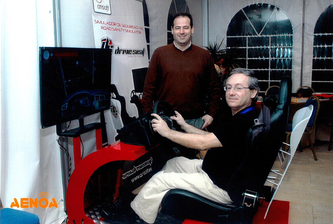 Arisoft Editorial - Gafas de simulación de alcohol - Simulador de conducción